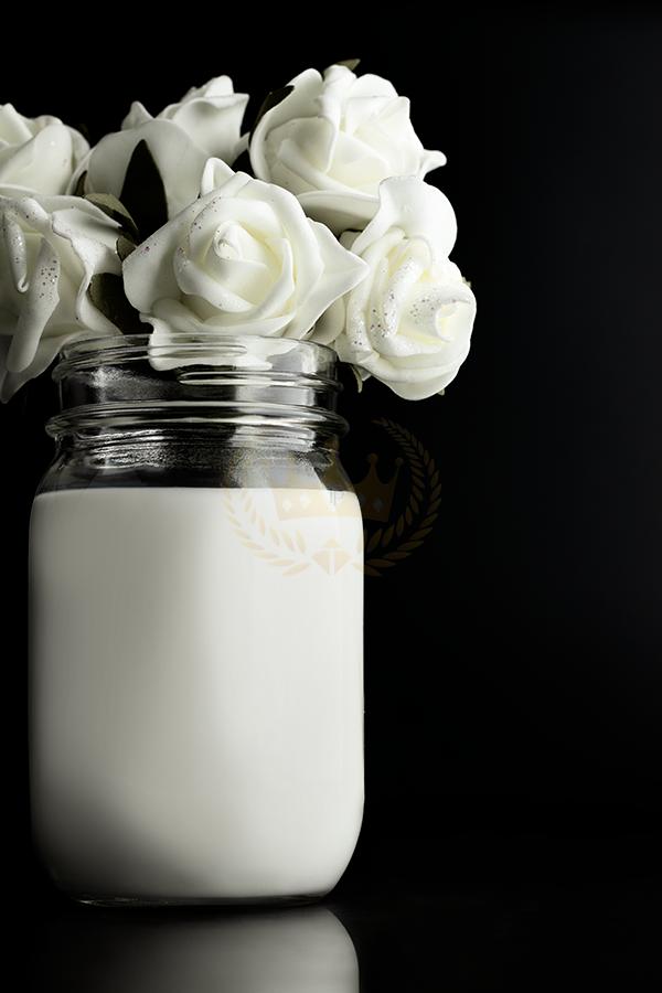 Still Life with Milk Bouquet